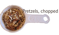 pretzels chopped