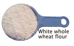 whole wheat white flour