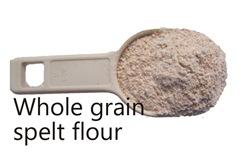 whole grain spelt flour
